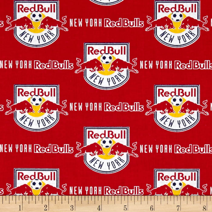 MLS Cotton Broadcloth New York Red Bull