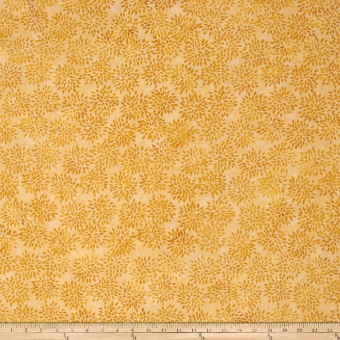 Island Batik Mum Gold/Brown