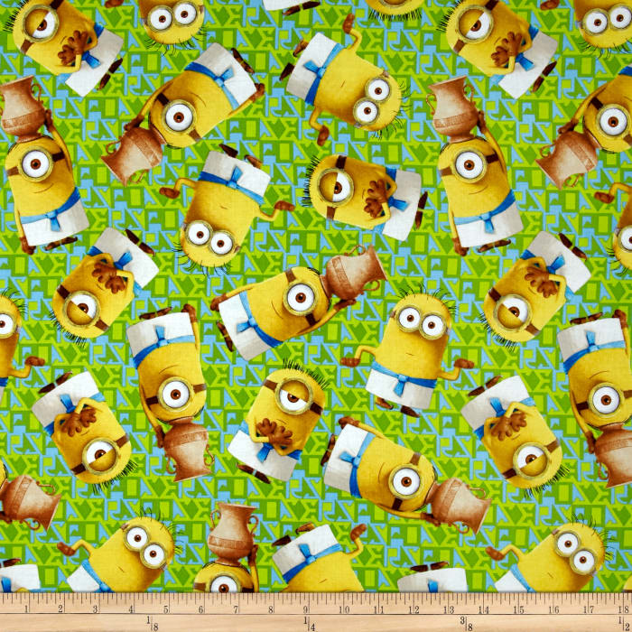 Minions Egyptian Minion Toss Light Green
