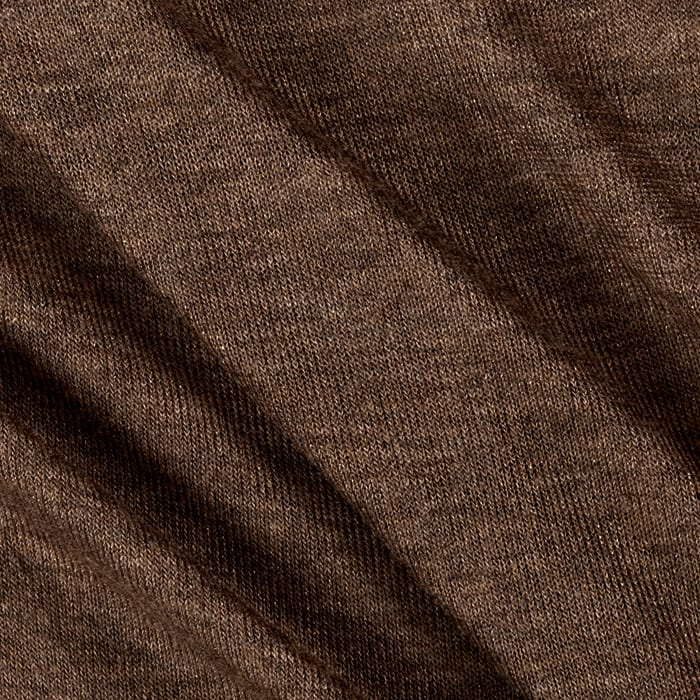 Sweater Knit Solid Rust Gold