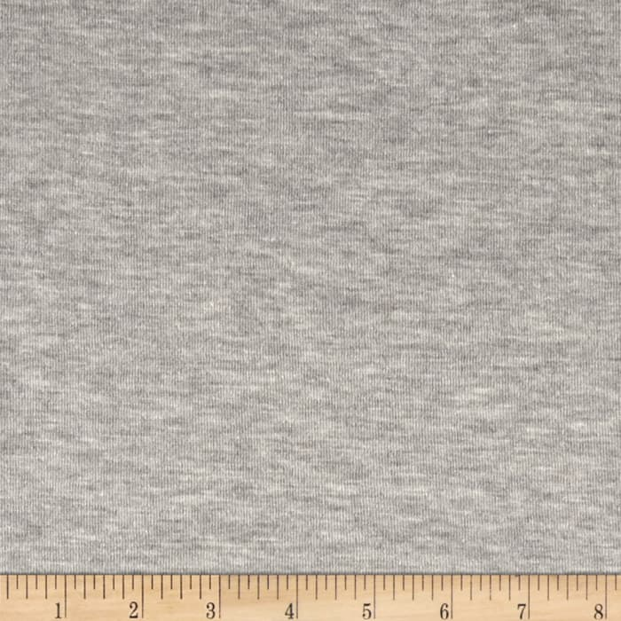 Kaufman Double Layer Jersey Knit Grey