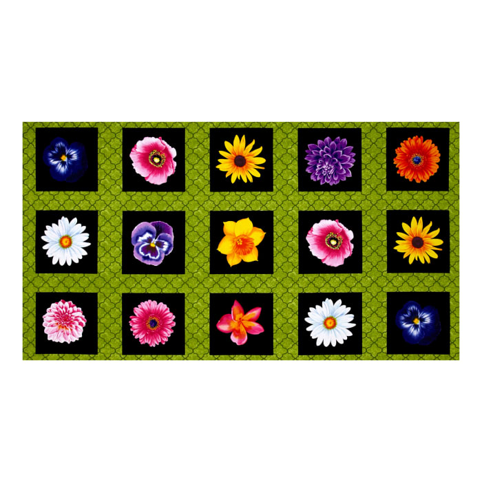 """Kanvas Bloom With A View Flower Box 23.5"""" PanelGreen"""