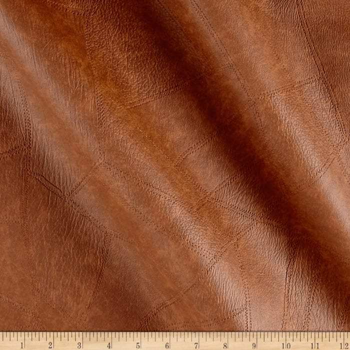 Faux Leather Patchwork Rawhide