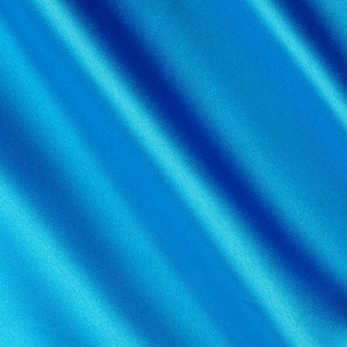 Silky Satin Charmeuse Solid Turquoise 31