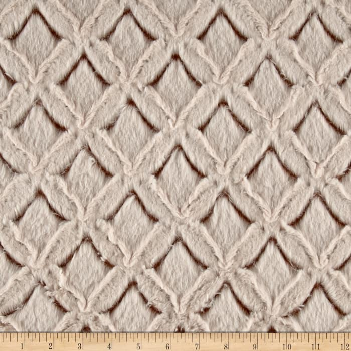 Shannon Minky Frosted Gem Cuddle Camel/Beige