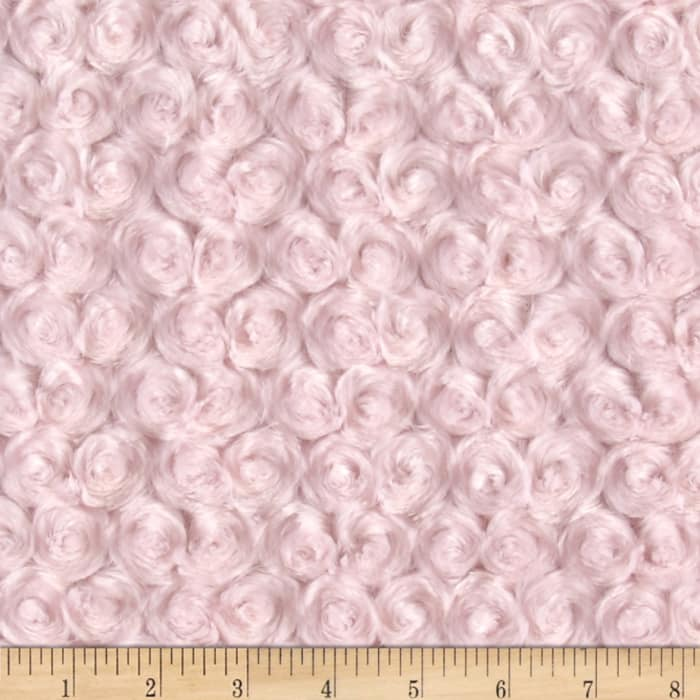 Shannon Minky Rose Cuddle Ice Pink