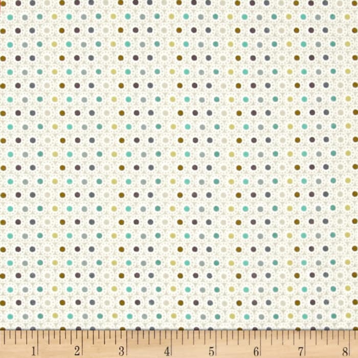 Roundabout Spheres Dots Cream