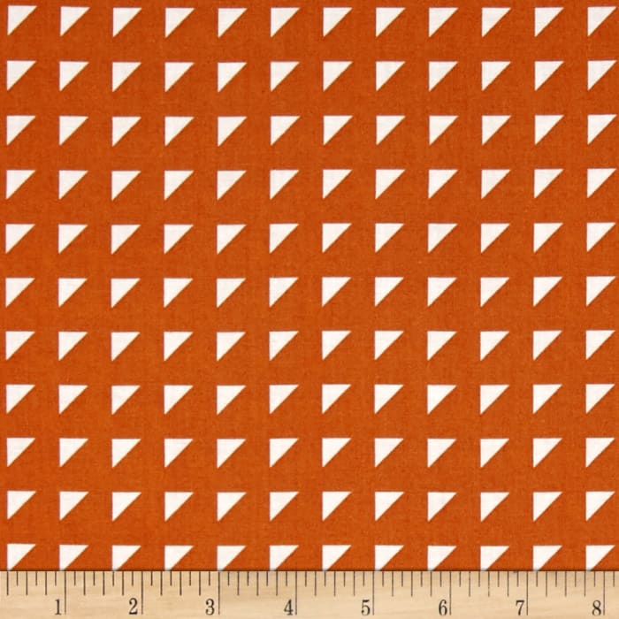 Hoffman Simply Eclectic Triangle Geo Marmalade