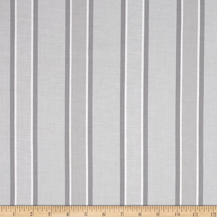 Hoffman Simply Eclectic Awning Stripe Gray