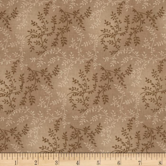 """108"""" Wide Quilt Back Tonal Vineyard Taupe"""