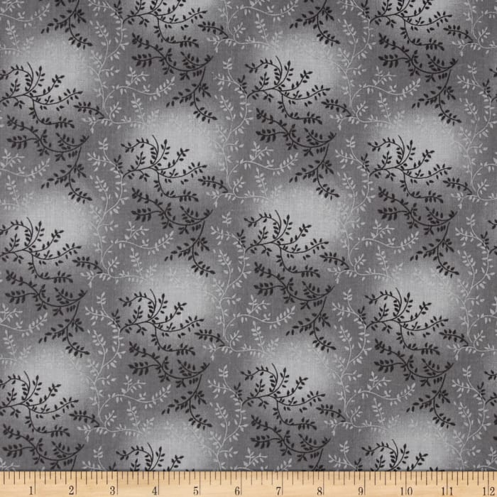 "108"" Wide Quilt Back Tonal Vineyard Light Gray"