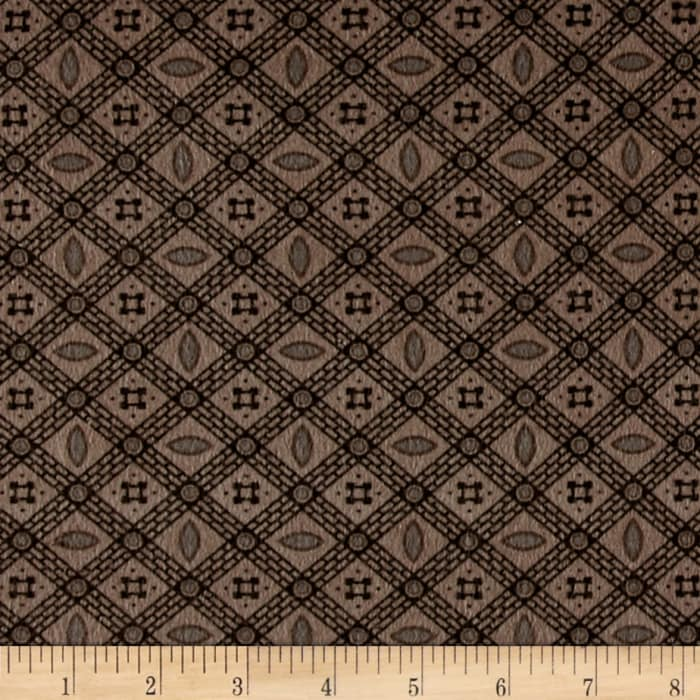 Cozies Flannel Check Light Brown