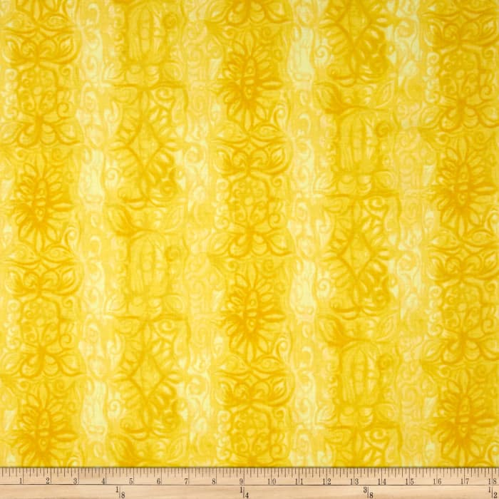 Soft Dreams Abstract Stripe Yellow