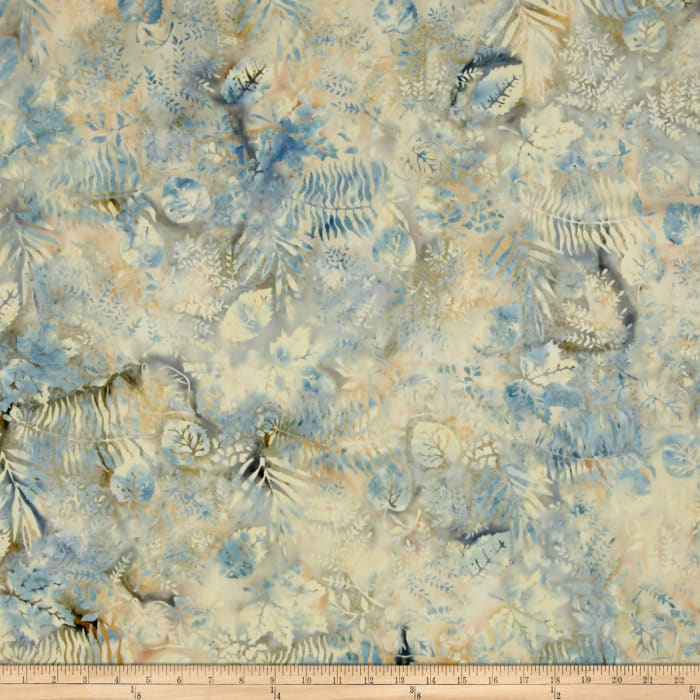 Island Batik French Roasted Fern Gold/Blue Gry