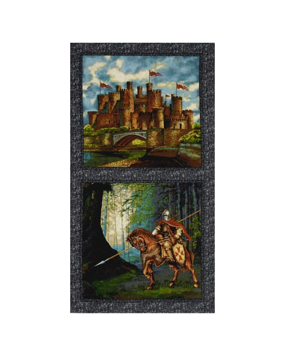 Through the Ages Castle and Soldier 24 In. Multi