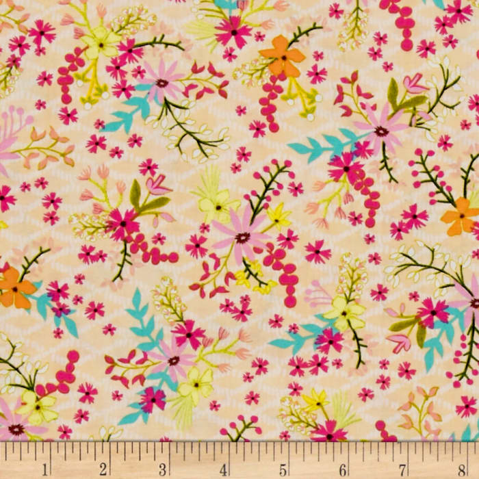 Blush & Blooms Mini Floral Peach
