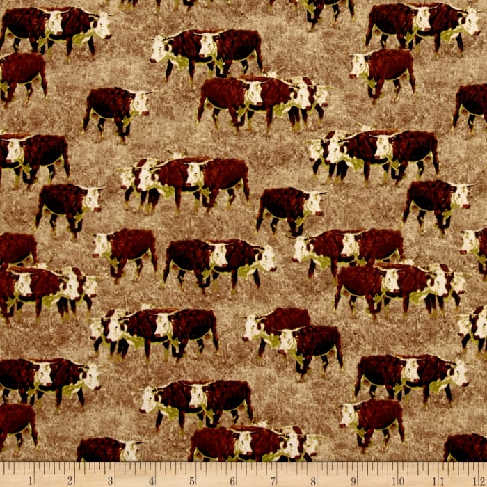 Cattle Drive Longhorn Steer Straw