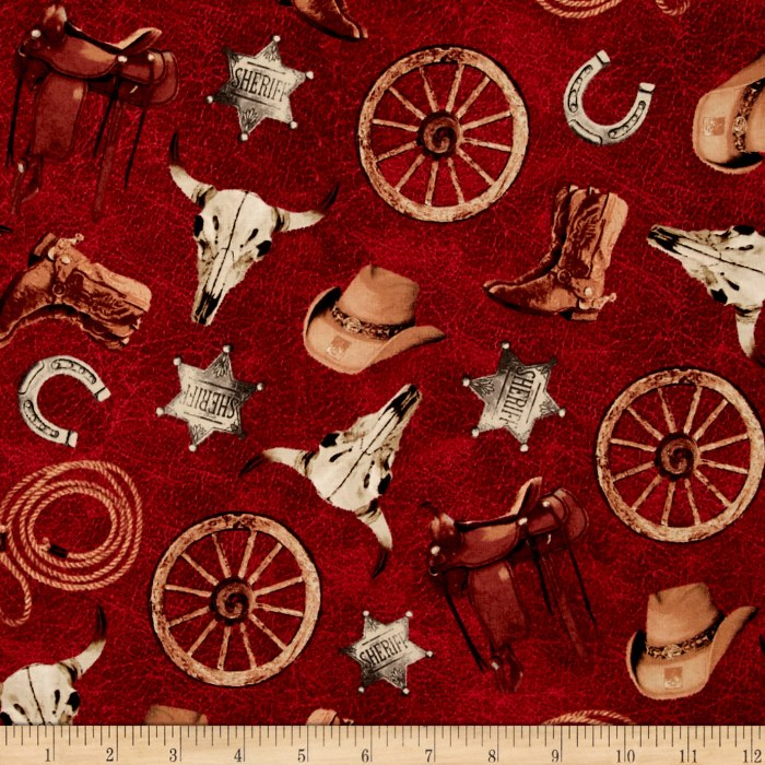 Cattle Drive Accessories Red