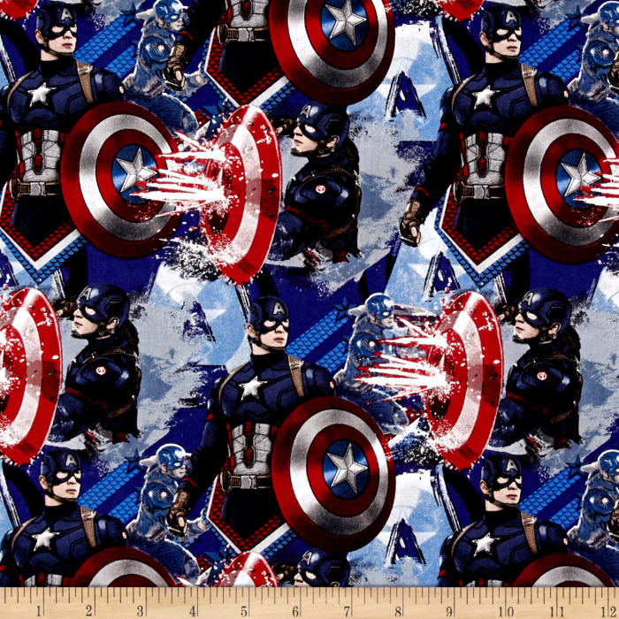 Marvel Captain America Power Blue