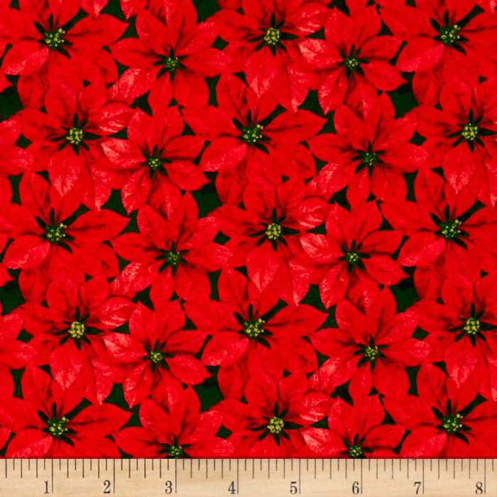 Traditional Poinsettia Red