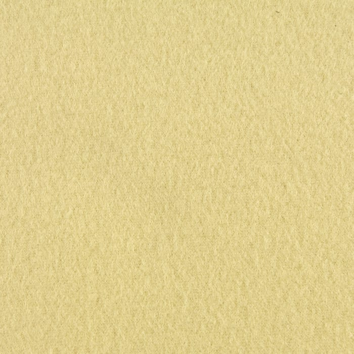 Polar Fleece Solid Light Yellow Discount Designer Fabric