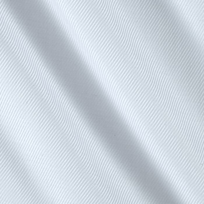 Kaufman White Shirt Dobby Diagonal Stripe White
