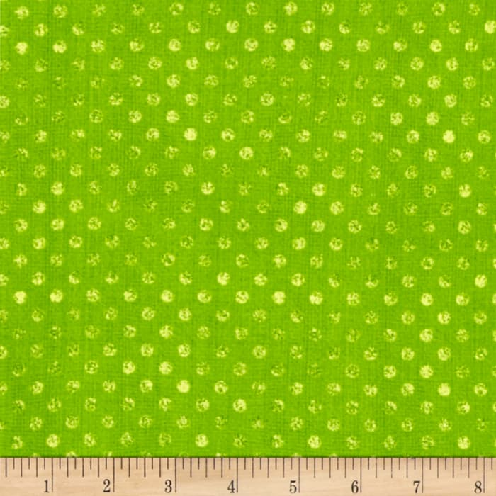 Essentials Dotsy Lime Green