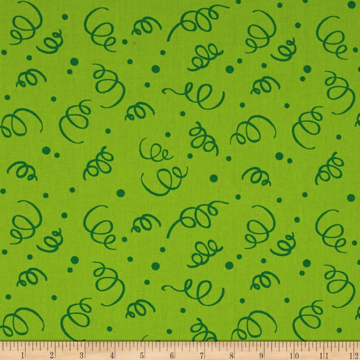 """110"""" Wide Quilt Back Fiesta Lime"""