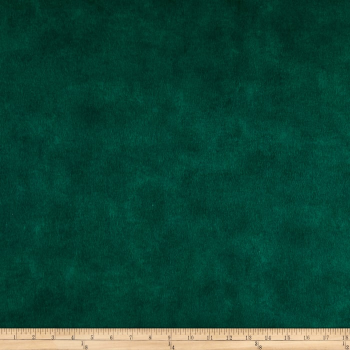 Chalk it up to Winter Flannel Solid Green