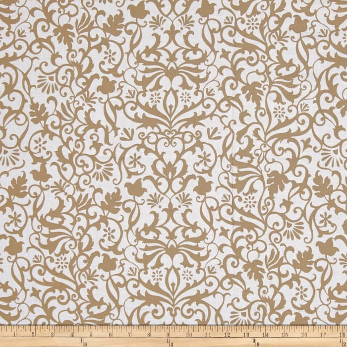 Near and Deer Damask Tan