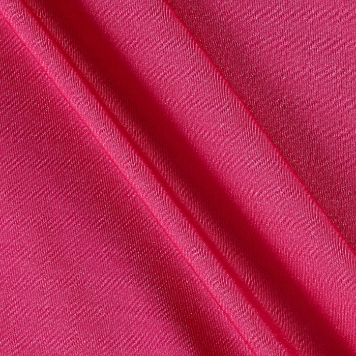 Shimmer Venecia Stretch ITY Jersey Knit Solid Paris Pink