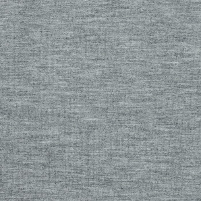 Jersey Knit Solid Light Heather Gray