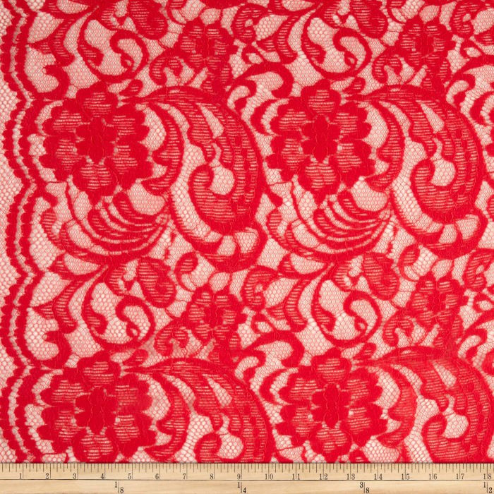 Paisley Large Coral Lace