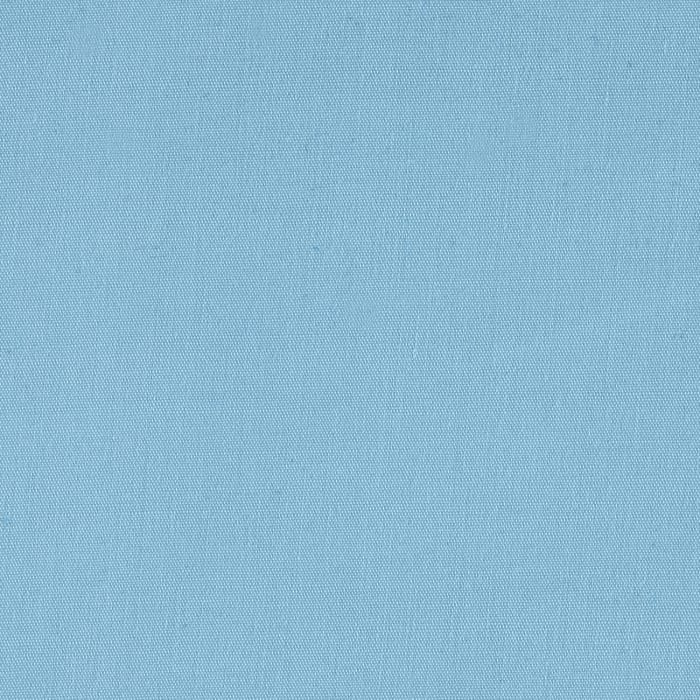 "60"" Poly Cotton Broadcloth Baby Blue"