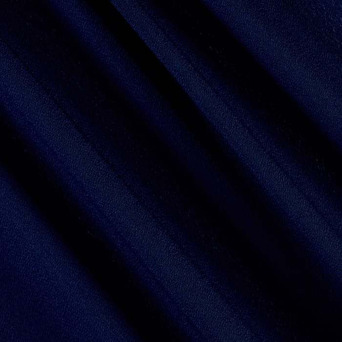 Double Georgette Navy