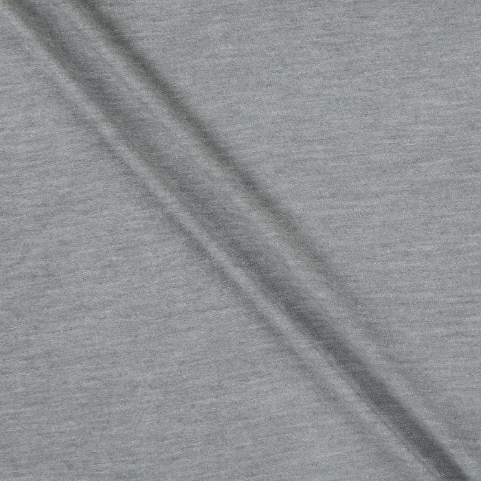 French Terry Knit Heather Gray