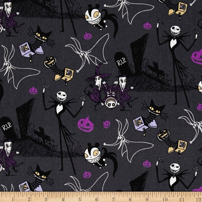 Disney Nightmare Before Christmas Jack in the Boxes Gray