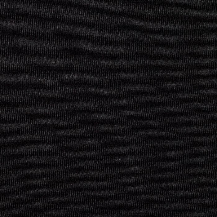 Rayon spandex jersey knit black discount designer fabric for Spandex fabric