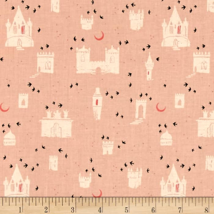 Cotton + Steel From Porto With Love Evora Pink