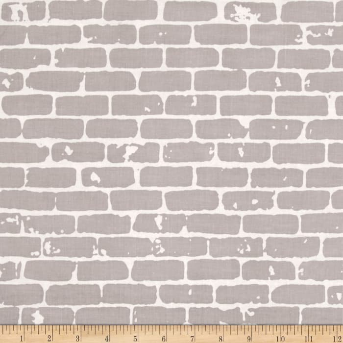 Grafic Brick Wall Gray