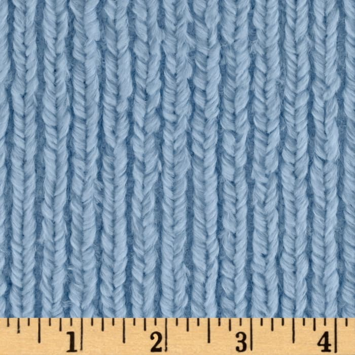 Shannon Minky Luxe Cuddle Chenille Baby Blue