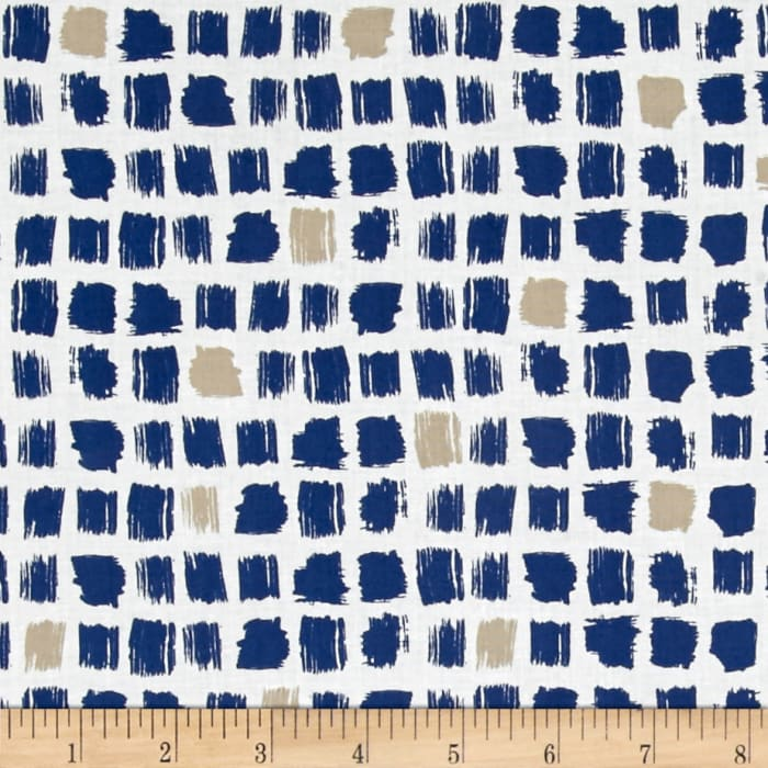 Cloud 9 Organic Around the Block Pocket Patch Navy