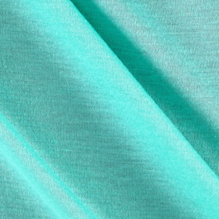 Poly Jersey Knit Solid Turquoise