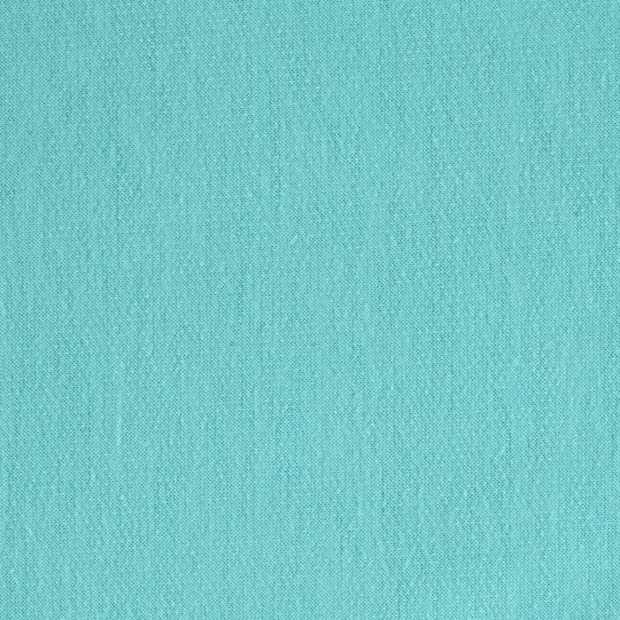 French Terry Knit Solid Turquoise