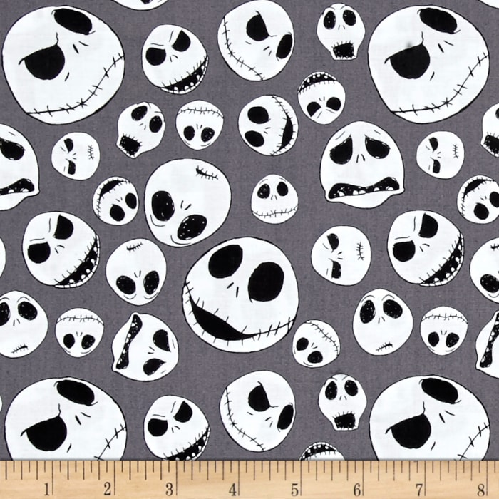 The Nightmare Before Christmas Jack Faces Iron