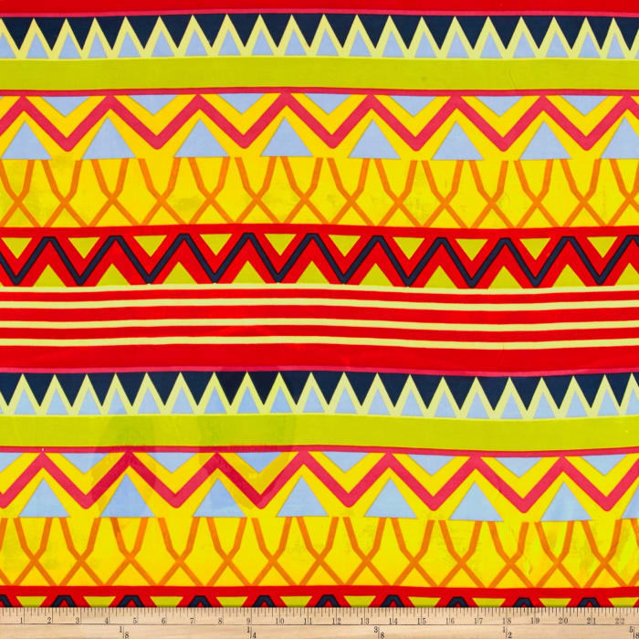 Stretch ITY Knit Paola Aztec Multi