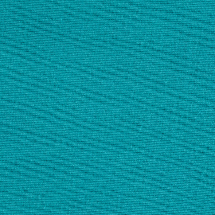 Baby Rib Knit Solid Turquoise