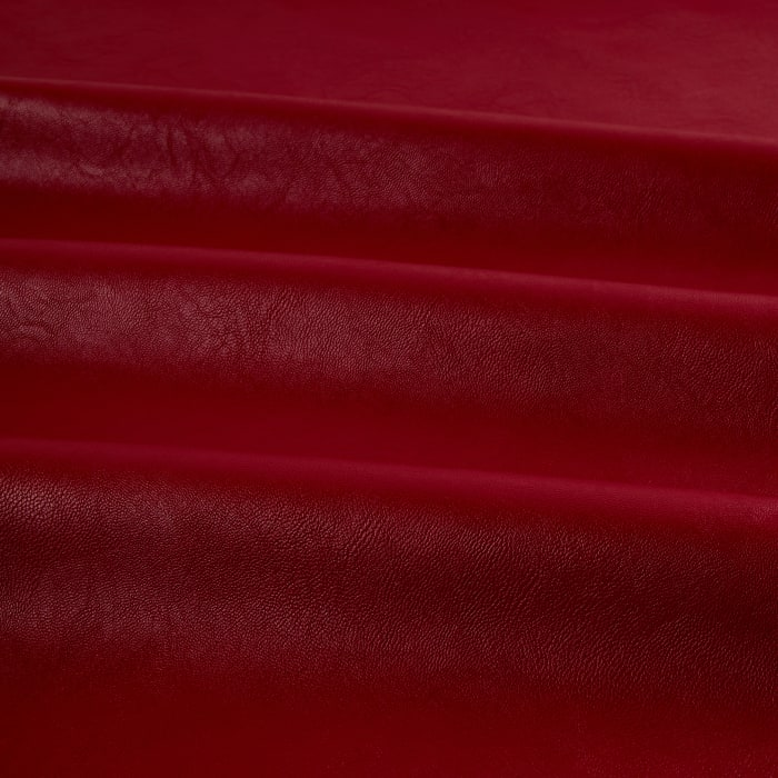 Telio Perfection Fused Faux Leather Red