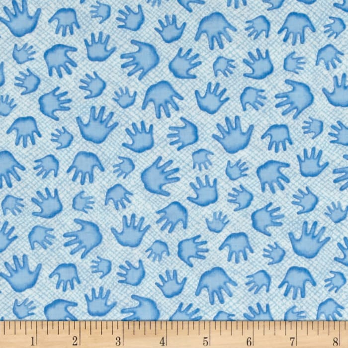 A Miracle Little Hands Blue