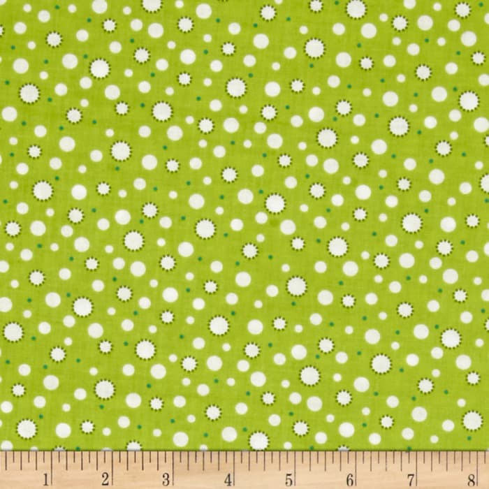 A Miracle Baby Dots Grass